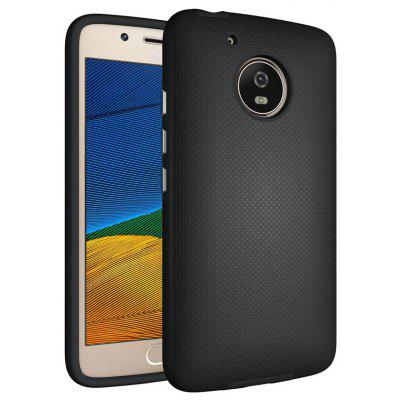 Buy BLACK Non-slip Surface Shockproof Back PC Case for Motorola Moto G5 for $4.18 in GearBest store