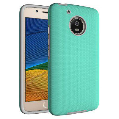 Buy GREEN Non-slip Surface Shockproof Back PC Case for Motorola Moto G5 for $4.18 in GearBest store