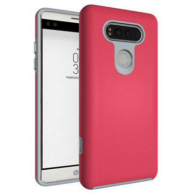 Buy RED Non-slip Surface Shockproof Back PC Case for LG V20 for $4.18 in GearBest store
