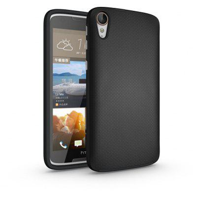Buy BLACK Non-slip Surface Shockproof Back PC Case for HTC Desire 828 for $4.18 in GearBest store