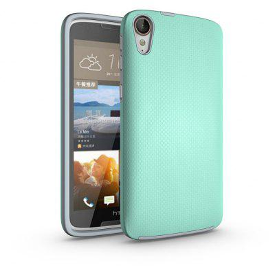 Buy GREEN Non-slip Surface Shockproof Back PC Case for HTC Desire 828 for $4.18 in GearBest store