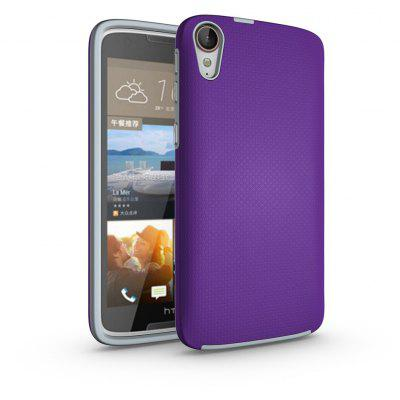 Buy PURPLE Non-slip Surface Shockproof Back PC Case for HTC Desire 828 for $4.18 in GearBest store