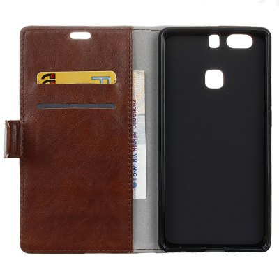 KaZiNe Luxury PU Leather Silicon Magnetic Dirt Resistant Phone Bags Cases for HuaWei P9 PLUSCases &amp; Leather<br>KaZiNe Luxury PU Leather Silicon Magnetic Dirt Resistant Phone Bags Cases for HuaWei P9 PLUS<br><br>Compatible Model: HuaWei P9 PLUS<br>Features: Full Body Cases, Cases with Stand, With Credit Card Holder, Anti-knock<br>Mainly Compatible with: HUAWEI<br>Material: TPU, PU Leather<br>Package Contents: 1 x Phone Case<br>Package size (L x W x H): 17.00 x 8.50 x 1.60 cm / 6.69 x 3.35 x 0.63 inches<br>Package weight: 0.0800 kg<br>Style: Solid Color