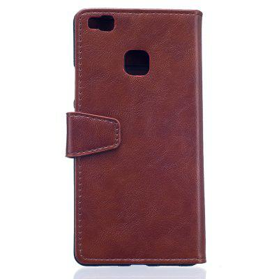 KaZiNe Luxury PU Leather Silicon Magnetic Dirt Resistant Phone Bags Cases for HuaWei P9 LITECases &amp; Leather<br>KaZiNe Luxury PU Leather Silicon Magnetic Dirt Resistant Phone Bags Cases for HuaWei P9 LITE<br><br>Compatible Model: HuaWei P9 LITE<br>Features: Full Body Cases, Cases with Stand, With Credit Card Holder, Anti-knock<br>Mainly Compatible with: HUAWEI<br>Material: TPU, PU Leather<br>Package Contents: 1 x Phone Case<br>Package size (L x W x H): 17.00 x 8.50 x 1.60 cm / 6.69 x 3.35 x 0.63 inches<br>Package weight: 0.0800 kg<br>Style: Solid Color