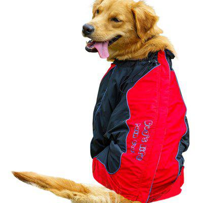 Water-Resistant Reflective Dog Rain Coat
