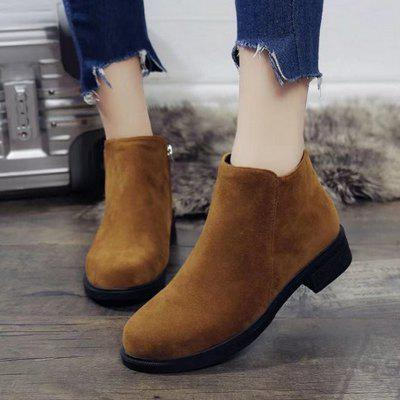 high Heeled Women Shoes with Short Sleeve Boots coarse Heel Sleeves Round Head Short Boots womenWomens Casual Shoes<br>high Heeled Women Shoes with Short Sleeve Boots coarse Heel Sleeves Round Head Short Boots women<br><br>Available Size: 35 36 37 38 39<br>Closure Type: Slip-On<br>Embellishment: None<br>Flat Type: Mary Janes<br>Gender: For Women<br>Occasion: Casual<br>Outsole Material: Rubber<br>Package Contents: 1X Shoes(Pair)<br>Pattern Type: Solid<br>Season: Spring/Fall<br>Toe Shape: Round Toe<br>Toe Style: Closed Toe<br>Upper Material: Microfiber<br>Weight: 1.2800kg