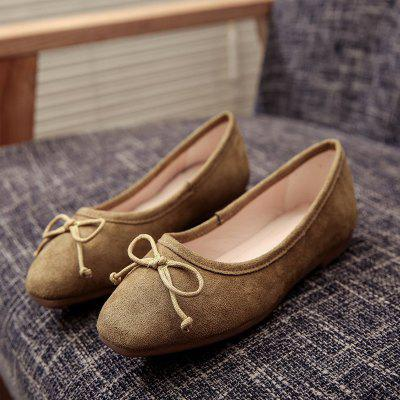 The New Flat Comfortable Small Bow Shoes Ann Arbor Ad Prokupka