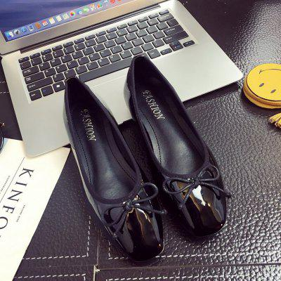 Sdjr-C190 New Bright Bow Small Flat Comfortable ShoesSdjr-C190 New Bright Bow Small Flat Comfortable Shoes<br><br>Available Size: 35 36 37 38 39  40<br>Closure Type: Slip-On<br>Embellishment: Bow<br>Flat Type: Ballet Flats<br>Gender: For Women<br>Occasion: Party<br>Package Contents: 1X Shoes(Pair)<br>Package size (L x W x H): 32.00 x 20.00 x 10.00 cm / 12.6 x 7.87 x 3.94 inches<br>Package weight: 1.0000 kg<br>Pattern Type: Print<br>Season: Spring/Fall<br>Toe Shape: Square Toe<br>Toe Style: Closed Toe<br>Upper Material: PU