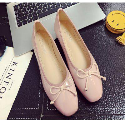 Sdjr-C190 New Bright Bow Small Flat Comfortable ShoesWomens Flats<br>Sdjr-C190 New Bright Bow Small Flat Comfortable Shoes<br><br>Available Size: 35 36 37 38 39  40<br>Closure Type: Slip-On<br>Embellishment: Bow<br>Flat Type: Ballet Flats<br>Gender: For Women<br>Occasion: Party<br>Package Contents: 1X Shoes(Pair)<br>Package size (L x W x H): 32.00 x 20.00 x 10.00 cm / 12.6 x 7.87 x 3.94 inches<br>Package weight: 1.0000 kg<br>Pattern Type: Print<br>Season: Spring/Fall<br>Toe Shape: Square Toe<br>Toe Style: Closed Toe<br>Upper Material: PU