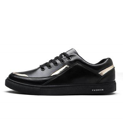 Men Casual Shoes Flat Fashion Lace-Up Rubber Hard-WearingCasual Shoes<br>Men Casual Shoes Flat Fashion Lace-Up Rubber Hard-Wearing<br><br>Available Size: 39-44<br>Closure Type: Lace-Up<br>Embellishment: None<br>Gender: For Men<br>Outsole Material: Rubber<br>Package Contents: 1? Pair of Shoes<br>Pattern Type: Solid<br>Season: Spring/Fall<br>Toe Shape: Round Toe<br>Toe Style: Closed Toe<br>Upper Material: Leather<br>Weight: 1.2000kg