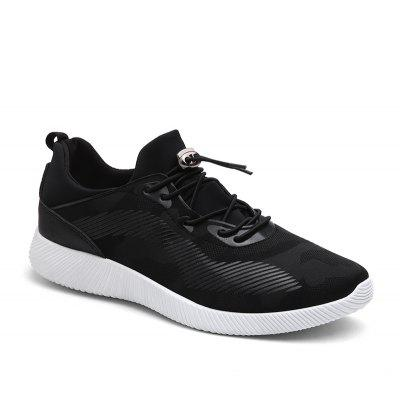 Drawstring Solid Color Breathable Casual Shoes