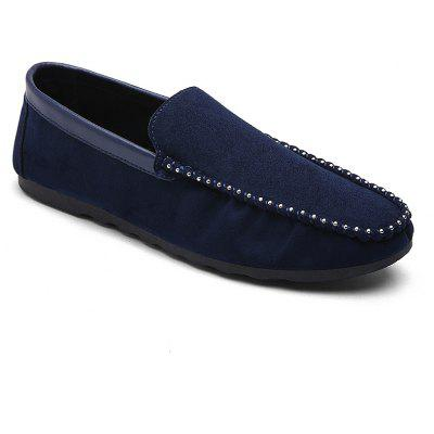 Men Casual Shoes Slip-On Loafers Fabric Hard-Wearing