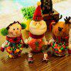 Christmas Snowman Plastic Candy Containers Decorative Candy Bottles Holiday Decorations - RANDOM COLOR