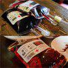 Clear Food Grade Reusable Blood Energy Drink Bag Halloween Props Bag Vampire - CLEAR WHITE