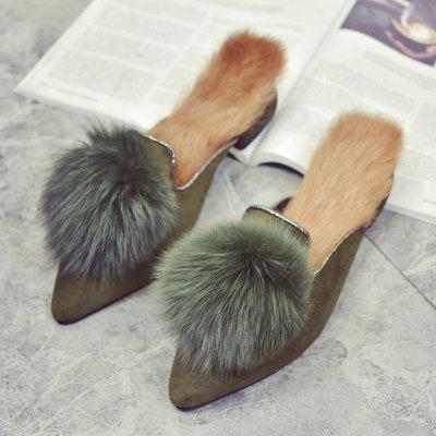 2017 Suede Top Woollen SlippersSlippers &amp; Flip-Flops<br>2017 Suede Top Woollen Slippers<br><br>Available Size: 35,36,37,38,39<br>Gender: For Women<br>Heel Type: Others<br>Package Contents: 1 x Shoes?Pair?<br>Pattern Type: Others<br>Season: Spring/Fall, Winter<br>Slipper Type: Indoor<br>Style: Fashion<br>Upper Material: PU<br>Weight: 1.1200kg