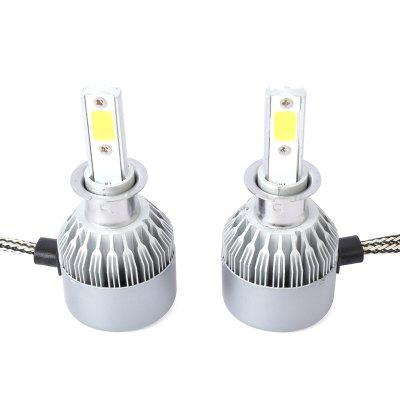 Dicen One Pair of C6 H3 Car Led Headlight Cob Light Lamp