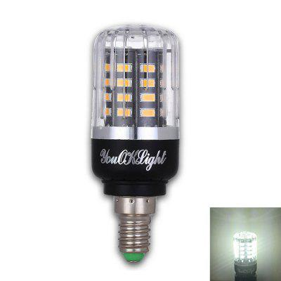 Youoklight E14 3W AC 85 - 265V 40 SMD 5736 LED Corn BulbCorn Bulbs<br>Youoklight E14 3W AC 85 - 265V 40 SMD 5736 LED Corn Bulb<br><br>Brand: YouOKLight<br>Color Temperature or Wavelength: 6000K<br>Connection: E14<br>Dimmable: No<br>Finish: Plastics<br>Initial Lumens ( lm ): 240<br>LED Beam Angle: 360 Degree<br>LED Quantity: 40<br>LED Type: SMD 5736<br>Lifetime ( h ): More than 1500<br>Light Source Color: White<br>Material: PC, Aluminum<br>Package Contents: 1 x LED Corn Bulb<br>Package size (L x W x H): 9.40 x 3.50 x 3.50 cm / 3.7 x 1.38 x 1.38 inches<br>Package weight: 0.0410 kg<br>Power Supply: AC Powered<br>Primary Application: Children Room,Childrens Room,Dinner Decor,Everyday Use,Garage or Carport,Hallway or Stairwell,Home Decoration,Home or Office,Hotel Dining Table,Living Room,Living Room or Dining Room,Residential,Stor<br>Product size (L x W x H): 8.90 x 3.00 x 3.00 cm / 3.5 x 1.18 x 1.18 inches<br>Product weight: 0.0330 kg<br>Quantity: 1pc<br>Type: LED Corn Lights<br>Voltage: AC 85 - 265V<br>Wattage: 3W