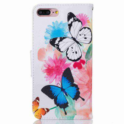 Two Butterflies Classic Painted Pu Phone Case for Iphone 7/8iPhone Cases/Covers<br>Two Butterflies Classic Painted Pu Phone Case for Iphone 7/8<br><br>Color: Assorted Colors<br>Compatible for Apple: iPhone 7, iPhone 8<br>Features: Cases with Stand, With Credit Card Holder, Dirt-resistant, Wallet Case<br>Material: PU, TPU<br>Package Contents: 1 x Phone Case<br>Package size (L x W x H): 14.10 x 7.50 x 1.80 cm / 5.55 x 2.95 x 0.71 inches<br>Package weight: 0.0570 kg<br>Style: Pattern, Mixed Color, Ultra Slim, Designed in China, Novelty