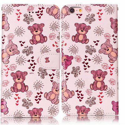 Bear Varnish Relief Pu Phone Case for Iphone 6S / 6iPhone Cases/Covers<br>Bear Varnish Relief Pu Phone Case for Iphone 6S / 6<br><br>Color: Assorted Colors<br>Compatible for Apple: iPhone 6, iPhone 6S<br>Features: Cases with Stand, With Credit Card Holder, Dirt-resistant, Wallet Case<br>Material: TPU, PU Leather<br>Package Contents: 1 x Phone Case<br>Package size (L x W x H): 14.50 x 7.50 x 1.50 cm / 5.71 x 2.95 x 0.59 inches<br>Package weight: 0.0380 kg<br>Style: Novelty
