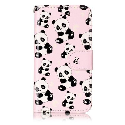 Panda Varnish Relief Pu Phone Case for Iphone 5 / 5S / SeiPhone Cases/Covers<br>Panda Varnish Relief Pu Phone Case for Iphone 5 / 5S / Se<br><br>Color: Assorted Colors<br>Compatible for Apple: iPhone 5/5S, iPhone SE<br>Features: Cases with Stand, With Credit Card Holder, Dirt-resistant, Wallet Case<br>Material: TPU, PU Leather<br>Package Contents: 1 x Phone Case<br>Package size (L x W x H): 13.00 x 7.00 x 1.50 cm / 5.12 x 2.76 x 0.59 inches<br>Package weight: 0.0460 kg<br>Style: Novelty