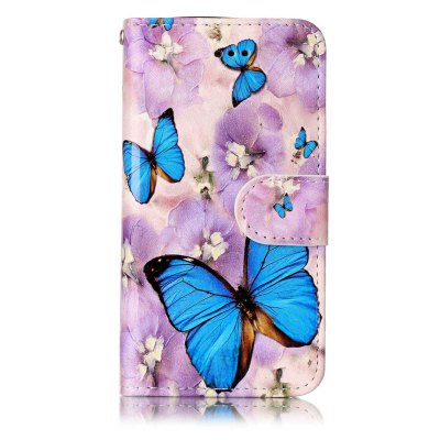 Purple Flower Butterfly Varnish Relief Pu Phone Case for Iphone 5 / 5S / SeiPhone Cases/Covers<br>Purple Flower Butterfly Varnish Relief Pu Phone Case for Iphone 5 / 5S / Se<br><br>Color: Assorted Colors<br>Compatible for Apple: iPhone 5/5S, iPhone SE<br>Features: Cases with Stand, With Credit Card Holder, Dirt-resistant, Wallet Case<br>Material: TPU, PU Leather<br>Package Contents: 1 x Phone Case<br>Package size (L x W x H): 13.00 x 7.00 x 1.50 cm / 5.12 x 2.76 x 0.59 inches<br>Package weight: 0.0460 kg<br>Style: Novelty