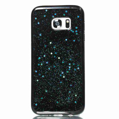 Black Five-Pointed Star Painted Dijiao Tpu Phone Case for Samsung Galaxy S7 EdgeSamsung S Series<br>Black Five-Pointed Star Painted Dijiao Tpu Phone Case for Samsung Galaxy S7 Edge<br><br>Color: Rose Gold,Silver,Gold,Cyan,Rose Madder<br>Compatible for Samsung: Samsung Galaxy S7 Edge<br>Features: Back Cover, Dirt-resistant<br>For: Samsung Mobile Phone<br>Functions: Camera Hole Location<br>Material: TPU<br>Package Contents: 1 x Phone Case<br>Package size (L x W x H): 15.30 x 7.70 x 1.00 cm / 6.02 x 3.03 x 0.39 inches<br>Package weight: 0.0320 kg<br>Style: Novelty, Pattern<br>Using Conditions: Skiing,Cruise