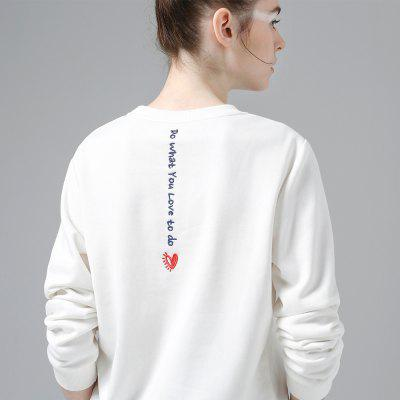 Toyouth Letter Printed Loose Long Sleeve Casual O-Neck Pullovers Sweatshirt WomenSweatshirts &amp; Hoodies<br>Toyouth Letter Printed Loose Long Sleeve Casual O-Neck Pullovers Sweatshirt Women<br><br>Elasticity: Micro-elastic<br>Fabric Type: Twill<br>Material: Cotton Blend<br>Package Contents: 1 x Sweatshirt<br>Pattern Style: Letter<br>Shirt Length: Regular<br>Sleeve Length: Full<br>Style: Casual<br>Weight: 0.3800kg