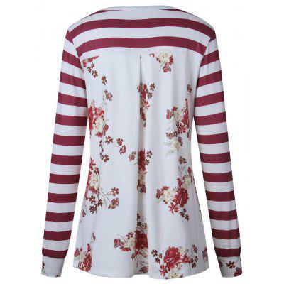 2017 Autumn Stylestriation Printed On The Back Long Sleeve T-ShirtTees<br>2017 Autumn Stylestriation Printed On The Back Long Sleeve T-Shirt<br><br>Collar: Round Neck<br>Elasticity: Elastic<br>Fabric Type: Jersey<br>Material: Polyester<br>Package Contents: 1 ? T-Shirt<br>Pattern Type: Striped<br>Shirt Length: Regular<br>Sleeve Length: Full<br>Style: Casual<br>Weight: 0.3000kg