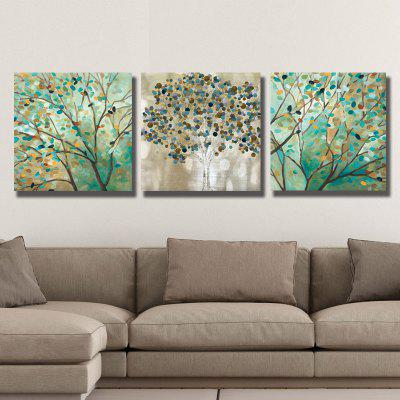 Dyc 10009 3PCS Abstract Trees Prtint Art Painting Ready To Hang PaintingsPrints<br>Dyc 10009 3PCS Abstract Trees Prtint Art Painting Ready To Hang Paintings<br><br>Brand: Art<br>Craft: Print<br>Form: Three Panels<br>Material: Canvas<br>Package Contents: 1 x Set of Print Arts<br>Package size (L x W x H): 33.00 x 33.00 x 9.00 cm / 12.99 x 12.99 x 3.54 inches<br>Package weight: 1.1000 kg<br>Painting: Include Inner Frame<br>Product size (L x W x H): 30.00 x 30.00 x 6.50 cm / 11.81 x 11.81 x 2.56 inches<br>Product weight: 0.6500 kg<br>Shape: Horizontal Panoramic<br>Style: Jewelry, Scenery / Landscape<br>Subjects: Abstract<br>Suitable Space: Office,Cafes,Kids Room,Study Room / Office