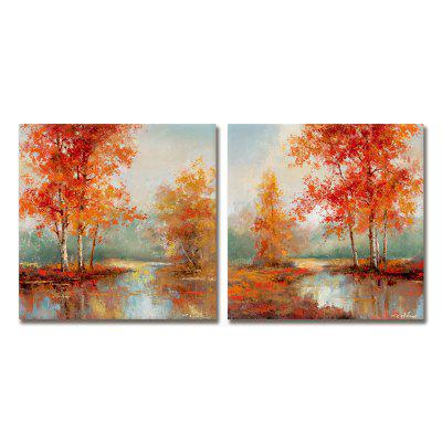 Dyc10024 2 Pcs Landscape Print Art Set of 2 Ready To Hang PaintingsPrints<br>Dyc10024 2 Pcs Landscape Print Art Set of 2 Ready To Hang Paintings<br><br>Brand: DYC<br>Craft: Oil Painting<br>Form: Two Panels<br>Material: Canvas<br>Package Contents: 1 x Set of Landscape Arts<br>Package size (L x W x H): 33.00 x 33.00 x 6.00 cm / 12.99 x 12.99 x 2.36 inches<br>Package weight: 0.9000 kg<br>Painting: Include Inner Frame<br>Product size (L x W x H): 30.00 x 30.00 x 4.00 cm / 11.81 x 11.81 x 1.57 inches<br>Product weight: 0.4500 kg<br>Shape: Horizontal Panoramic<br>Style: New Arrival<br>Subjects: Landscape<br>Suitable Space: Living Room,Cafes,Kids Room