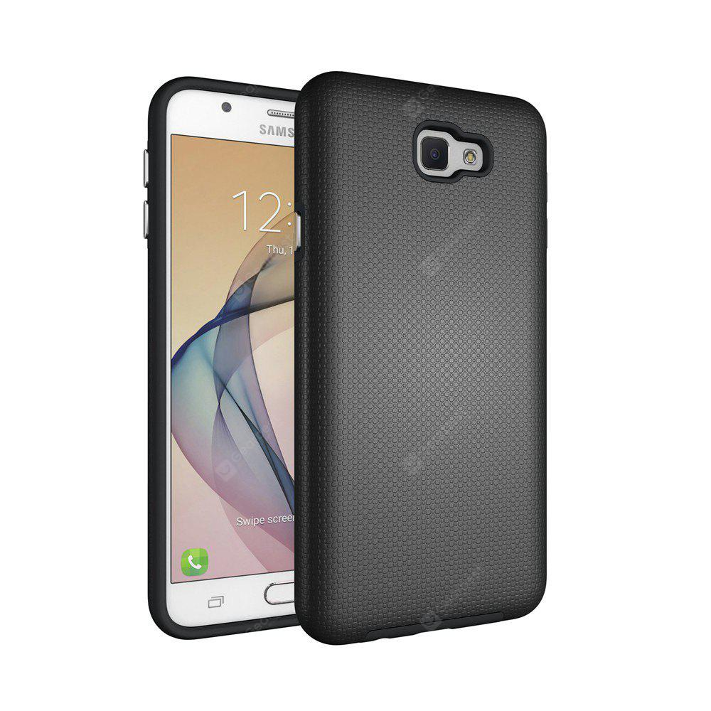 Non-slip Surface Shockproof Back PC Case for Samsung Galaxy J7 Prime