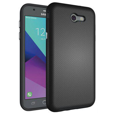 Non-slip Surface Shockproof Back PC Case for Samsung Galaxy J7 2017 (America Edition)