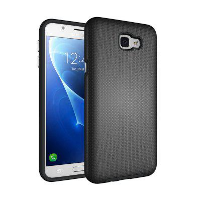 Non-slip Surface Shockproof Back PC Case for Samsung Galaxy J5 Prime