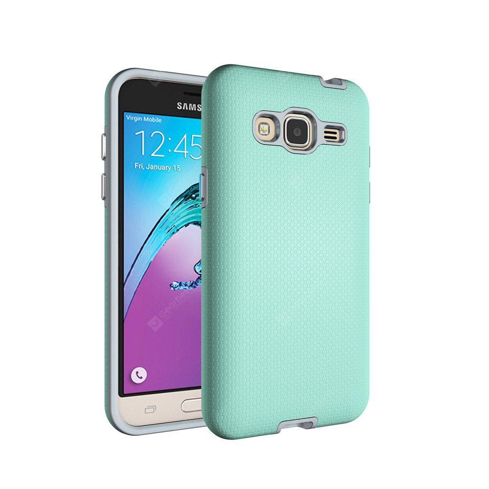 Non-slip Surface Shockproof Back PC Case for Samsung Galaxy J3 2016