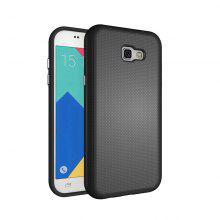 Non-slip Surface Shockproof Back PC Case for Samsung Galaxy A7 2017