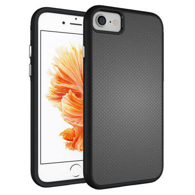 Buy BLACK Non-slip Surface Shockproof Back PC Case for iPhone SE for $3.52 in GearBest store