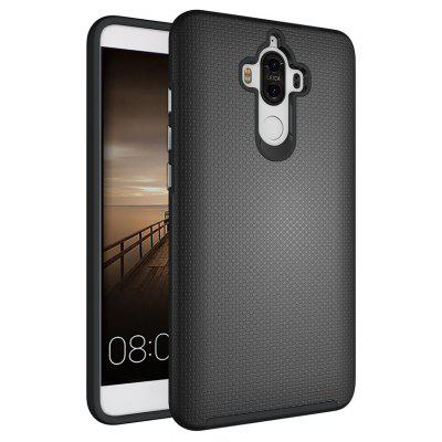 Buy BLACK Non-slip Surface Shockproof Back PC Case for Huawei Ascend Mate 9 for $4.18 in GearBest store
