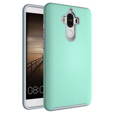 Buy GREEN Non-slip Surface Shockproof Back PC Case for Huawei Ascend Mate 9 for $4.18 in GearBest store