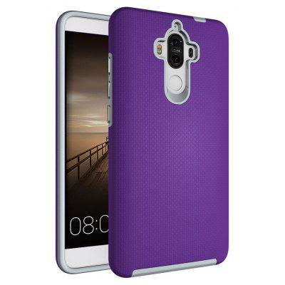Buy PURPLE Non-slip Surface Shockproof Back PC Case for Huawei Ascend Mate 9 for $4.18 in GearBest store