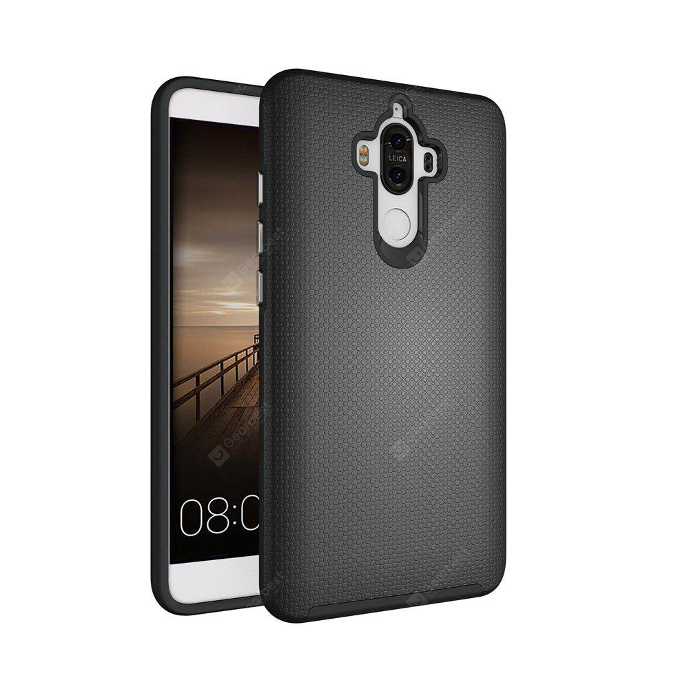 BLACK Non-slip Surface Shockproof Back PC Case for Huawei Ascend Mate 9