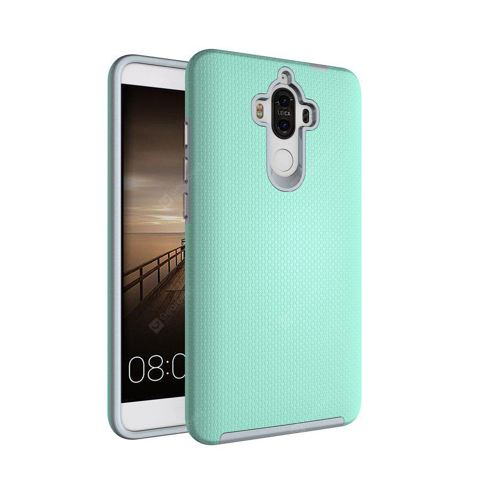 GREEN Non-slip Surface Shockproof Back PC Case for Huawei Ascend Mate 9
