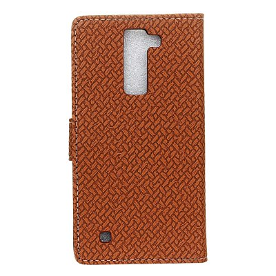 Wallet Style Stand Feature Fabric And Leather Look Design Wallet Cover Flip Cases for Lg K8Cases &amp; Leather<br>Wallet Style Stand Feature Fabric And Leather Look Design Wallet Cover Flip Cases for Lg K8<br><br>Features: Cases with Stand, With Credit Card Holder, Vertical Top Flip Case, Anti-knock<br>Material: TPU, PC<br>Package Contents: 1 x Phone Case<br>Package size (L x W x H): 18.00 x 13.00 x 3.00 cm / 7.09 x 5.12 x 1.18 inches<br>Package weight: 0.0600 kg
