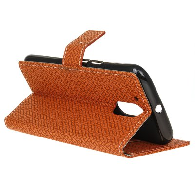 Wallet Style Stand Feature Fabric And Leather Look Design Wallet Cover Flip Cases for Moto G4 / G4 PlusCases &amp; Leather<br>Wallet Style Stand Feature Fabric And Leather Look Design Wallet Cover Flip Cases for Moto G4 / G4 Plus<br><br>Features: Cases with Stand, With Credit Card Holder, Vertical Top Flip Case, Anti-knock<br>Material: TPU, PC<br>Package Contents: 1 x Phone Case<br>Package size (L x W x H): 18.00 x 13.00 x 3.00 cm / 7.09 x 5.12 x 1.18 inches<br>Package weight: 0.0600 kg