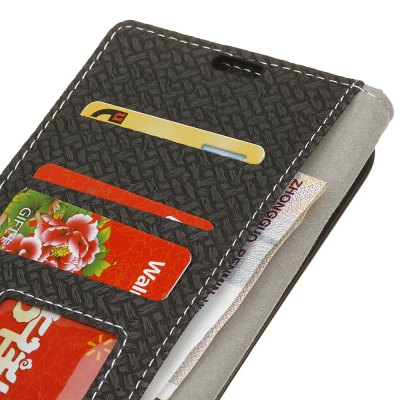 Wallet Style Stand Feature Fabric And Leather Look Design Wallet Cover Flip Cases for Moto E3Cases &amp; Leather<br>Wallet Style Stand Feature Fabric And Leather Look Design Wallet Cover Flip Cases for Moto E3<br><br>Features: Cases with Stand, With Credit Card Holder, Vertical Top Flip Case, Anti-knock<br>Material: TPU, PC<br>Package Contents: 1 x Phone Case<br>Package size (L x W x H): 18.00 x 13.00 x 3.00 cm / 7.09 x 5.12 x 1.18 inches<br>Package weight: 0.0600 kg
