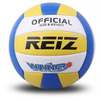 Official Size 5 Pu Volleyball High Quality Match Indooroutdoor Training Ball with Free Gift Net Needle V602