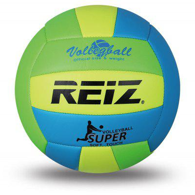 Official Size 5 Pu Volleyball High Quality Match Indooroutdoor Training Ball with Free Gift Net Needle V614