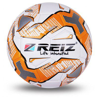 Reiz 534 High Quality Official Size 5 Standard Pu Soccer Ball Training Football Balls Indooroutdoor Training Ball with Free Gift Net Needle