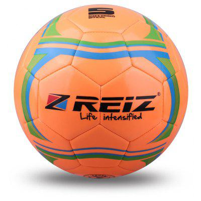 Reiz 533 High Quality Official Size 5 Standard Pu Soccer Ball Training Football Balls Indooroutdoor Training Ball with Free Gift Net Needle