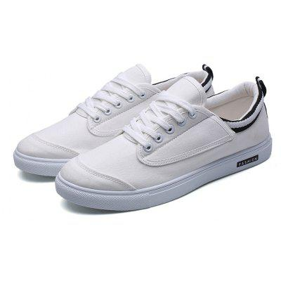 Color Block Striped Mens Canvas ShoesCasual Shoes<br>Color Block Striped Mens Canvas Shoes<br><br>Available Size: 39-44<br>Closure Type: Lace-Up<br>Embellishment: None<br>Gender: For Men<br>Outsole Material: Rubber<br>Package Contents: 1? Pair of Shoes<br>Pattern Type: Solid<br>Season: Spring/Fall<br>Toe Shape: Round Toe<br>Toe Style: Closed Toe<br>Upper Material: Canvas<br>Weight: 1.2000kg