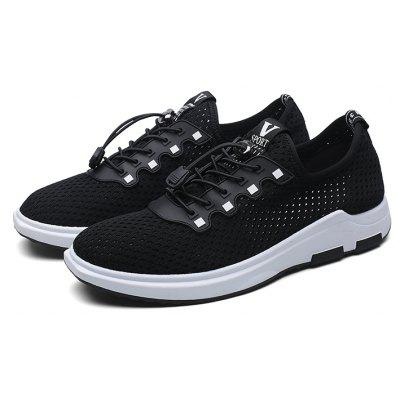 Men Casual Mesh Shoes Lace-Up Breathable Hard-Wearing Flat ShoesCasual Shoes<br>Men Casual Mesh Shoes Lace-Up Breathable Hard-Wearing Flat Shoes<br><br>Available Size: 39-44<br>Closure Type: Lace-Up<br>Embellishment: None<br>Gender: For Men<br>Outsole Material: Rubber<br>Package Contents: 1? Pair of Shoes<br>Pattern Type: Solid<br>Season: Spring/Fall<br>Toe Shape: Round Toe<br>Toe Style: Closed Toe<br>Upper Material: Canvas<br>Weight: 1.2000kg